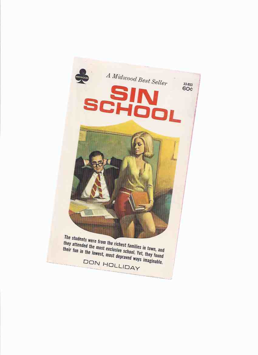 Image for Sin School -by Don Holliday / Midwood Book # 33-853