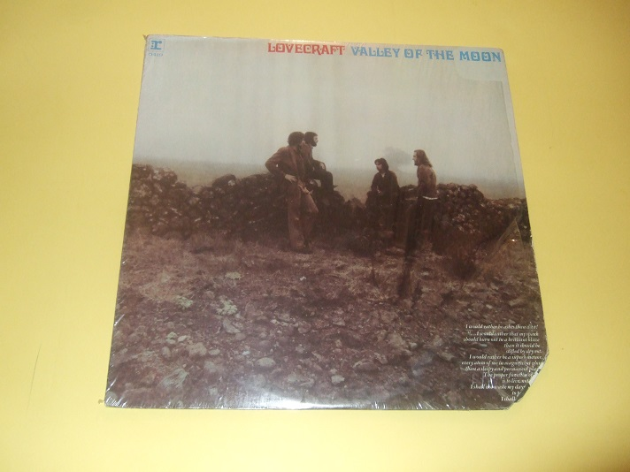 Image for LOVECRAFT:  Valley of the Moon ( 33 1/3 Record Album - LP )
