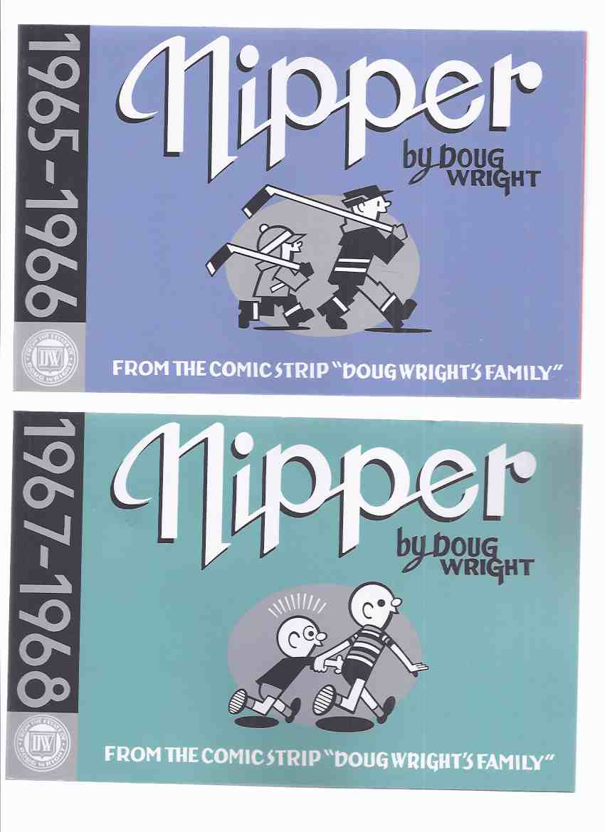 Image for TWO VOLUMES - NIPPER:  From the Comic Strip Doug Wright's Family - 1965 - 1966 -with 1967 - 1968 by Doug Wright / Drawn and Quarterly Publishers ( Book 1 / 2 )