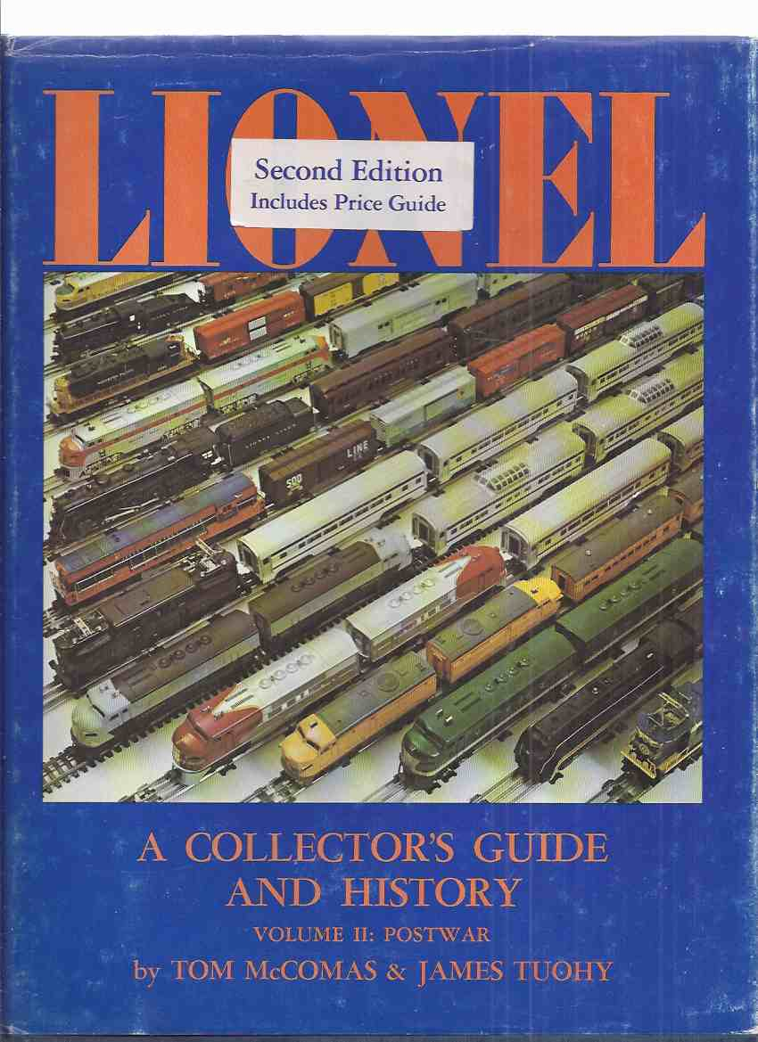 LIONEL: A Collector's Guide and History, Volume II, POSTWAR ( Lionel Model  Trains / Toys / Electric )( Post-war -Since 1945 / 1946 )(includes a Price