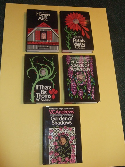 Image for Dollanganger Family Saga: Flowers in the Attic -with Petals on the Wind -with If There Be Thorns -with Seeds of Yesterday ---with Garden of Shadows ---Book 1, 2, 3, 4, 5 - FIVE Volumes  -by V C Andrews