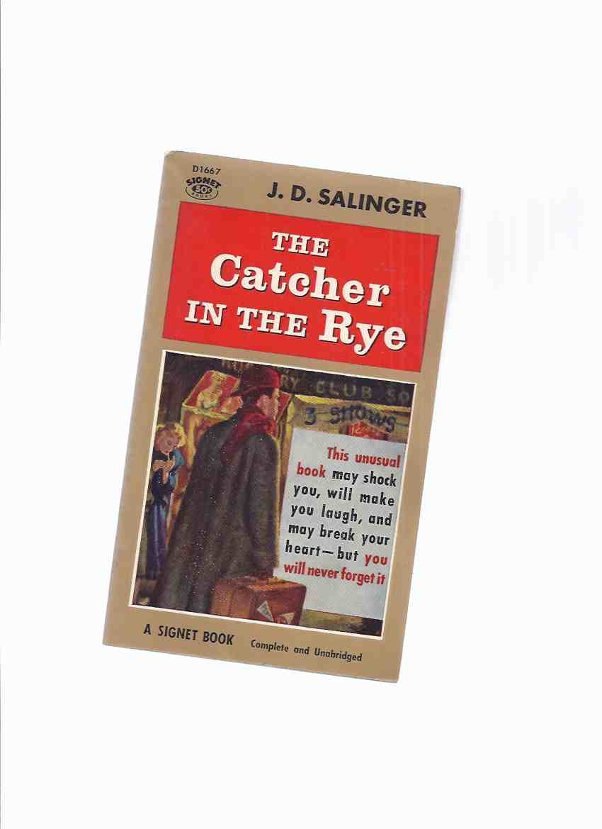 Image for The Catcher in the Rye ---by J D Salinger (Cover Art Showing Holden Caulfield )