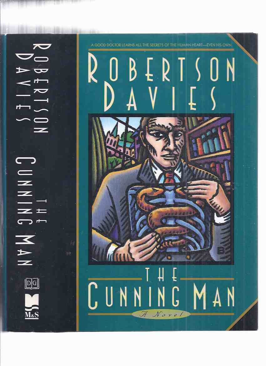 Image for The Cunning Man -by Robertson Davies -- Signed  ( story follows --- Murther and Walking Spirits )