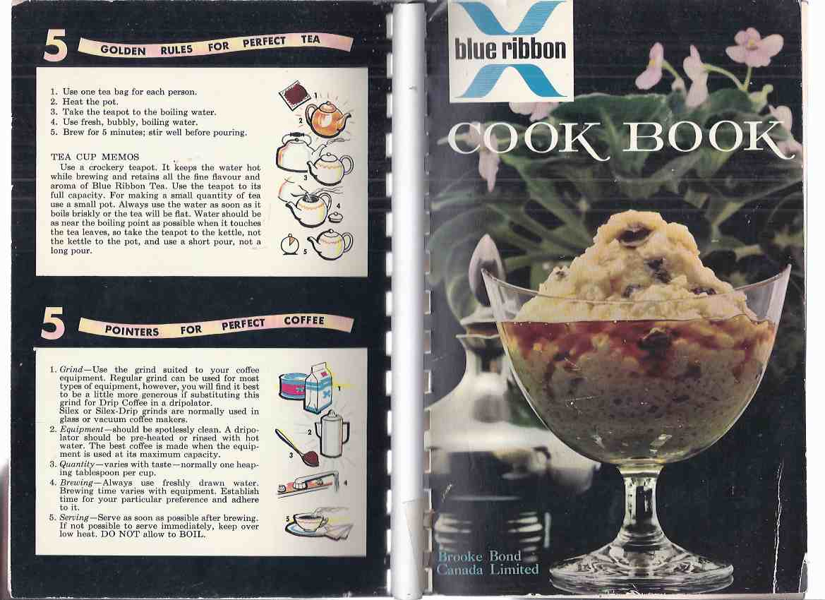 Image for Blue Ribbon Cook Book -The 29th Edition ( Cook Book / Cooking / Recipes )