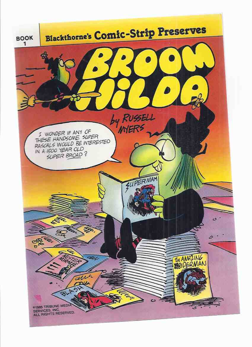 Image for Blackthorne's Comic-Strip Preserves:  Broom Hilda (the Witch / Cartoons / Comics )