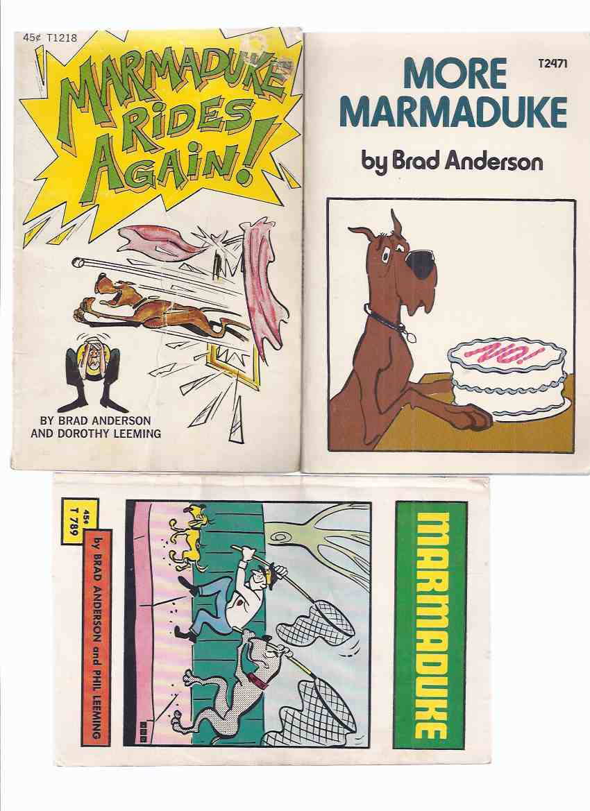 Image for Marmaduke; Marmaduke Rides Again; More Marmaduke  ---3 Volumes
