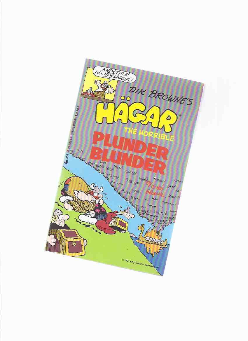 Image for Hagar the Horrible:  Plunder Blunder ( b&w Cartoons / Comics )