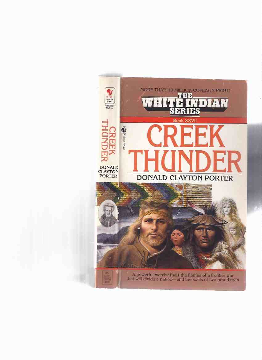 Image for Creek Thunder: The White Indian Series --- Book XXVII  ( 27 )