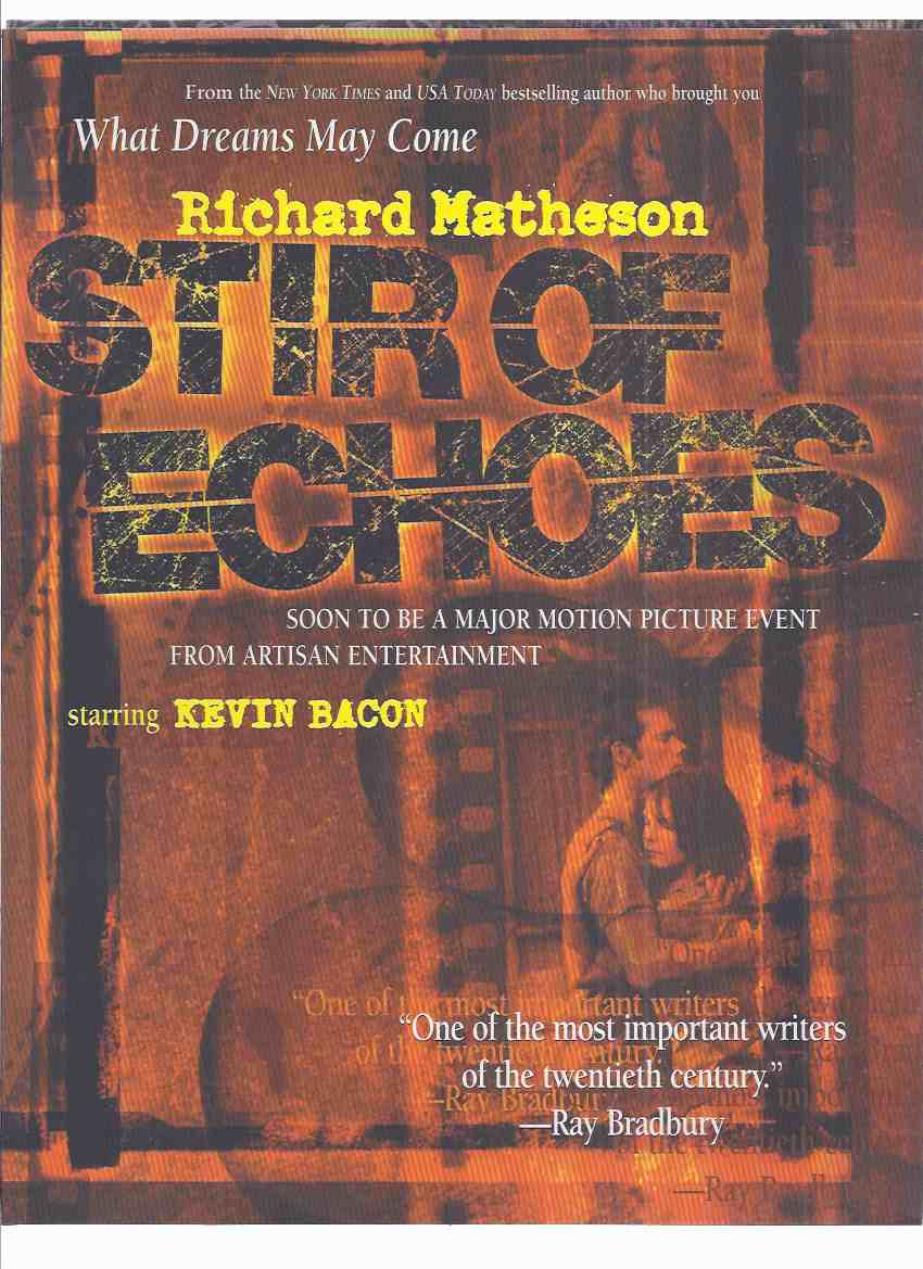 Image for Stir of Echoes Promotional Material from TOR Books and Artisan Entertainment ( Movie Tie-In with Kevin Bacon / Paperback Release )( Richard Matheson related)