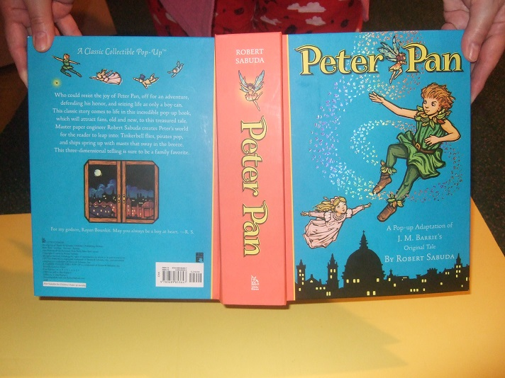 Image for Peter Pan:  A Pop-Up Adaptation By Robert Sabuda ( PopUps Include: London from above at night; the Island of Neverland; The Lost Boys and Wendy in the Underground Hideout; The Mermaids; Peter and Tinkerbell; The Jolly Roger Ship )