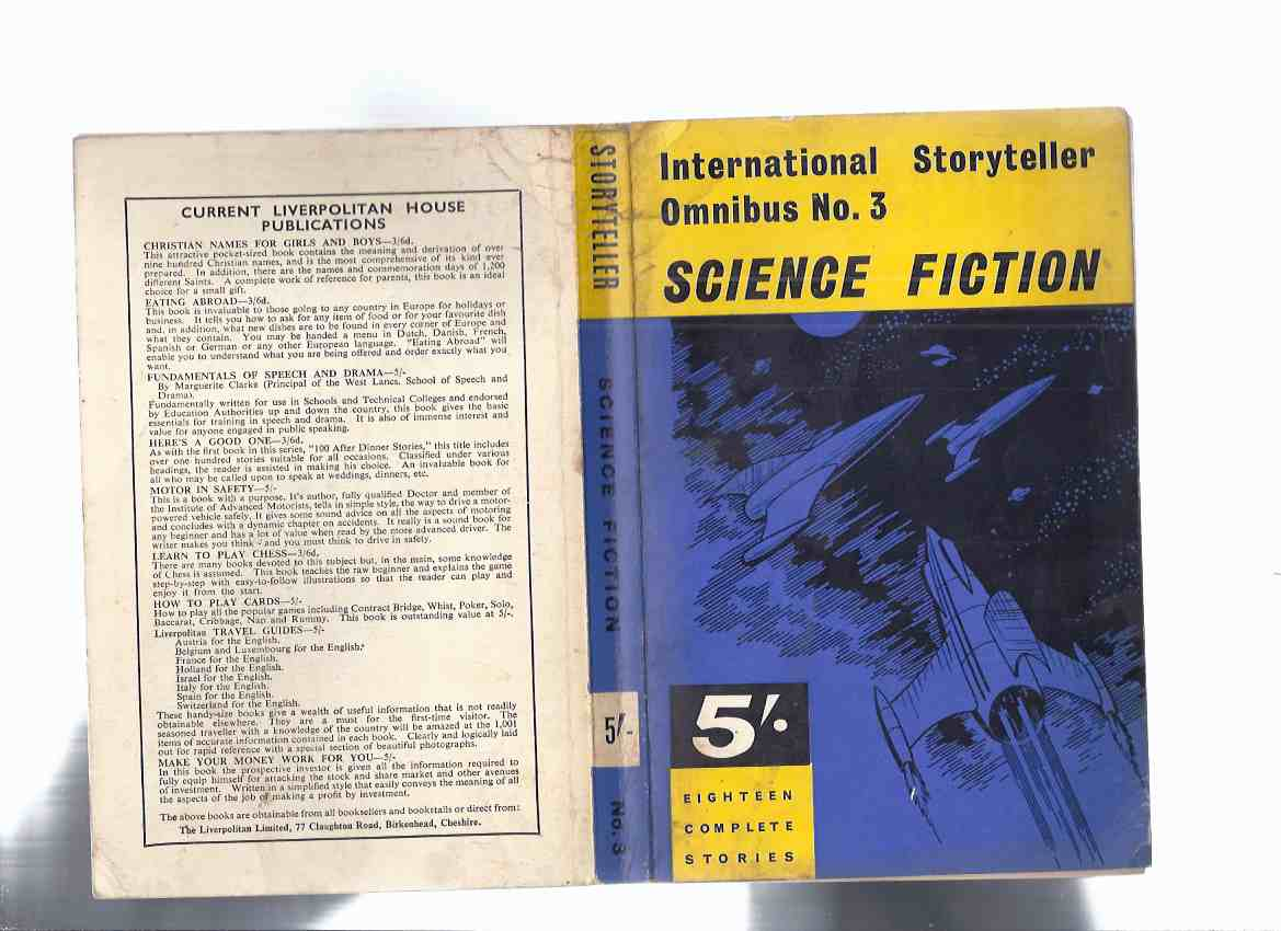 Image for International Storyteller Omnibus No. 3, 1964, Science Fiction - Eighteen Complete Stories ( 18 / SF )( Book / Volume # Three )