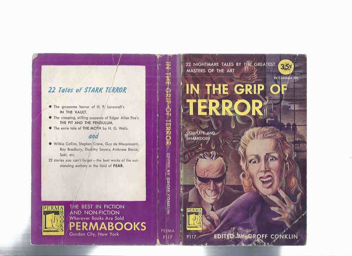 Image for In the Grip of Terror -22 Nightmare Tales (inc.Last Kiss; Illustrated Man; Upturned Face; Incredible Elopement of Lord Peter Wimsey; Horror-Horn; Tool; Revenge; Macklin's Little Friend; Easter Egg; Moth; Resumed Identity; Bubbles, etc)