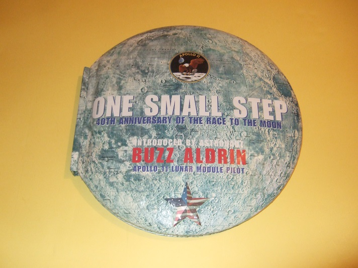 Image for ONE SMALL STEP:  40th Anniversary of the Race to the Moon ( Apollo 11 ) -Introduced By Buzz Aldrin Lunar Module Pilot  ( Moon Landing )( Fortieth )