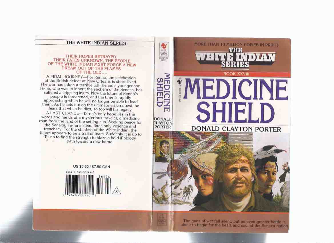 Image for Medicine Shield:  The White Indian Series --- Book XXVIII -by Donald Clayton Porter ( Volume 28 )