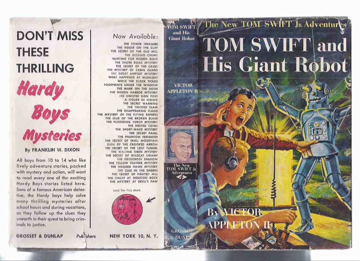 Image for Tom Swift and His Flying Lab; TS and His Rocket Ship; TS and His Giant Robot; TS and His atomic Earth Blaster -Volume 1, 3, 4, 5 ( FOUR BOOKS in the NEW Tom Swift Jr. Adventures )( All in Dustjackets )( vols. One, Three, Four, Five )