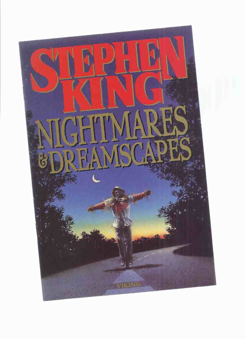"Image for PROMOTIONAL ADVERTISING for The VIKING FIRST EDITION of "" Nightmares and Dreamscapes"" (  Advertising pamphlet !!)(inc. Suffer the Little Children -a short story )"