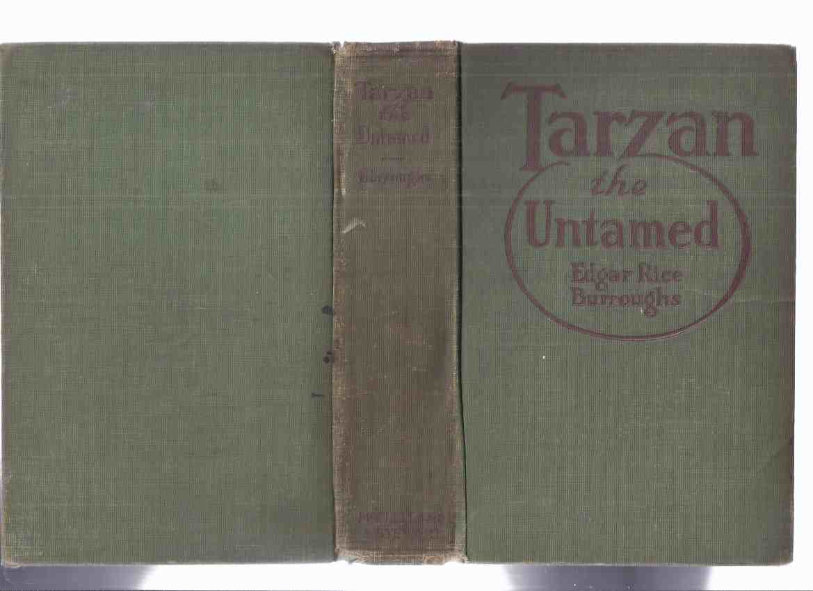 Image for Tarzan the Untamed -by Edgar Rice Burroughs