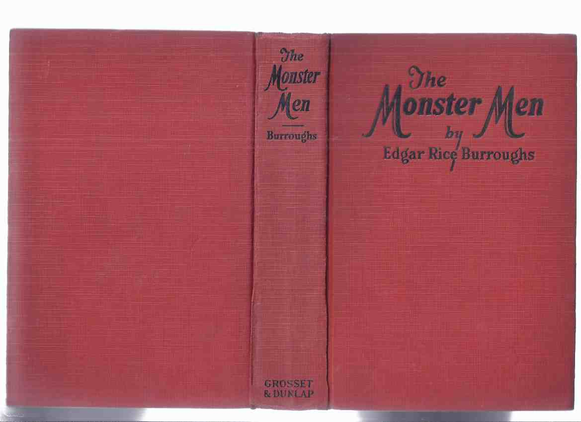 Image for The Monster Men -by Edgar Rice Burroughs