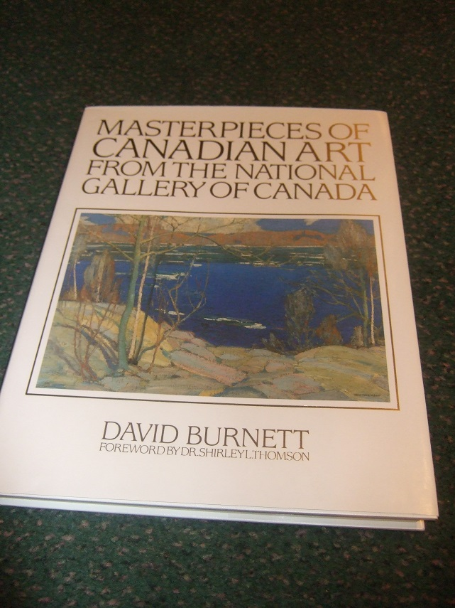 Image for Masterpieces of Canadian Art from the National Gallery of Canada -by David Burnett -Signed and Inscribed to Trisha Romance and Gary Peterson