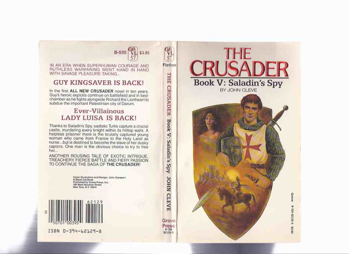 Image for The Crusader: Saladin's Spy,  Book No. 5  ---by John Cleve