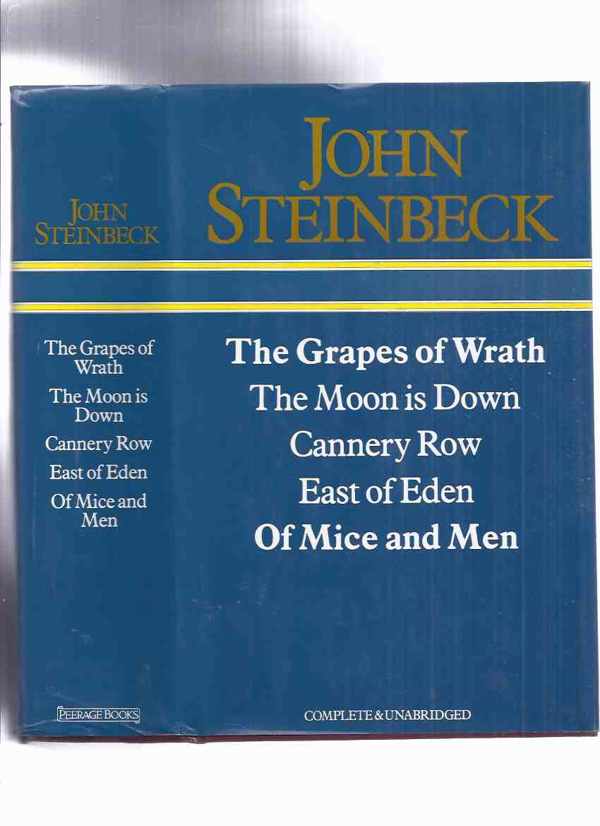 Image for OMNIBUS EDITION of 5 JOHN STEINBECK NOVELS:  The Grapes of Wrath; The Moon is Down; Cannery Row; East of Eden; Of Mice and Men ( 950 pages)