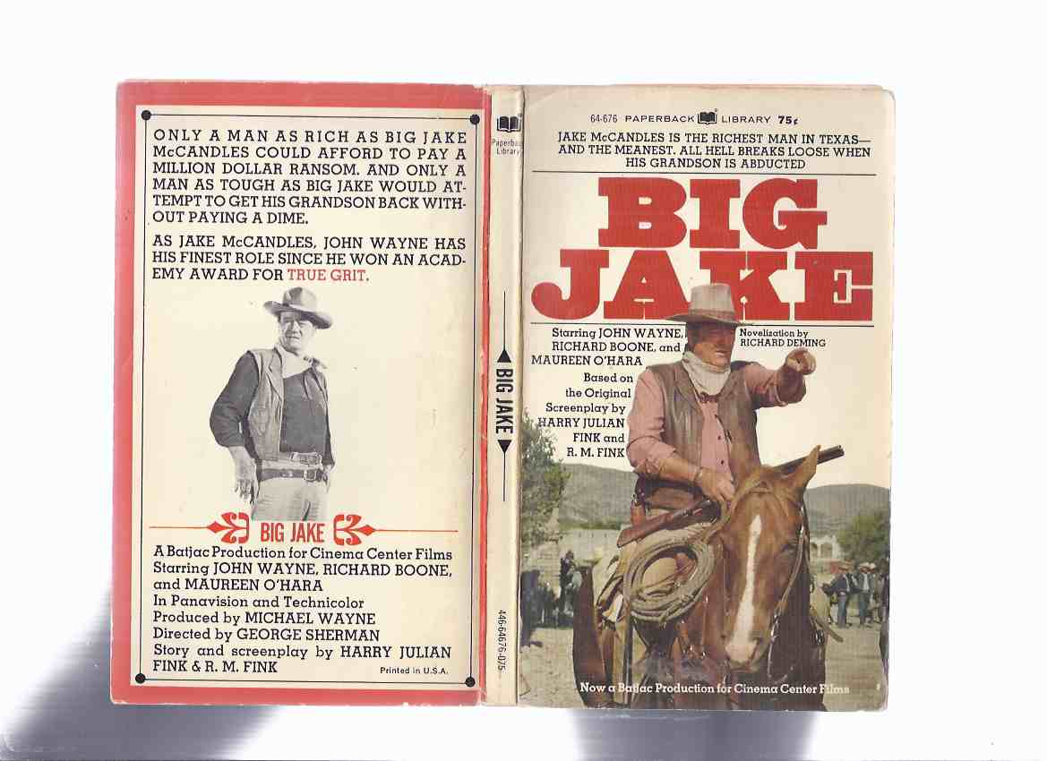 Image for Big Jake -by Richard Deming ( Movie Tie-In Edition / John Wayne Cover )