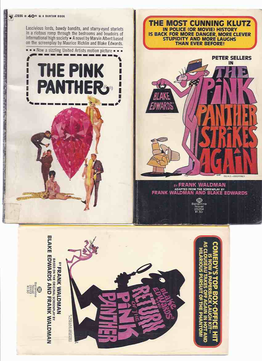 Image for Three Volumes:  The Pink Panther; The PP Strikes Again; The Return of the PP  ( Movie Tie-In Covers )( Volumes 1, 2, 3 )