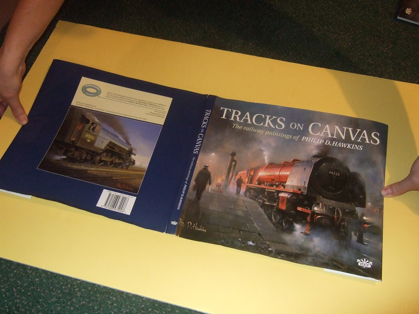 Image for Tracks on Canvas:  The Railway Paintings of Philip D Hawkins ( Trains / Locomotives / Railroad )( 50+ Full Colour Illustrations )