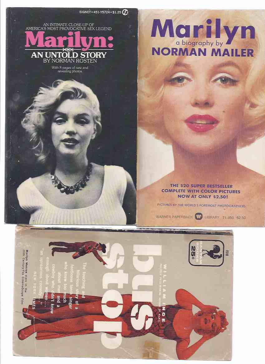 Image for 3 VOLUMES: Marilyn: An Untold Story / Marilyn, a Biography / Bus Stop ( Three Marilyn Monroe Books )