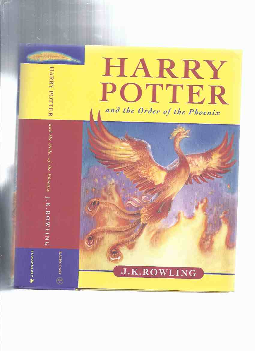 Image for Harry Potter and the Order of the Phoenix, Book 5 of the series -by J K Rowling  ( Volume Five )
