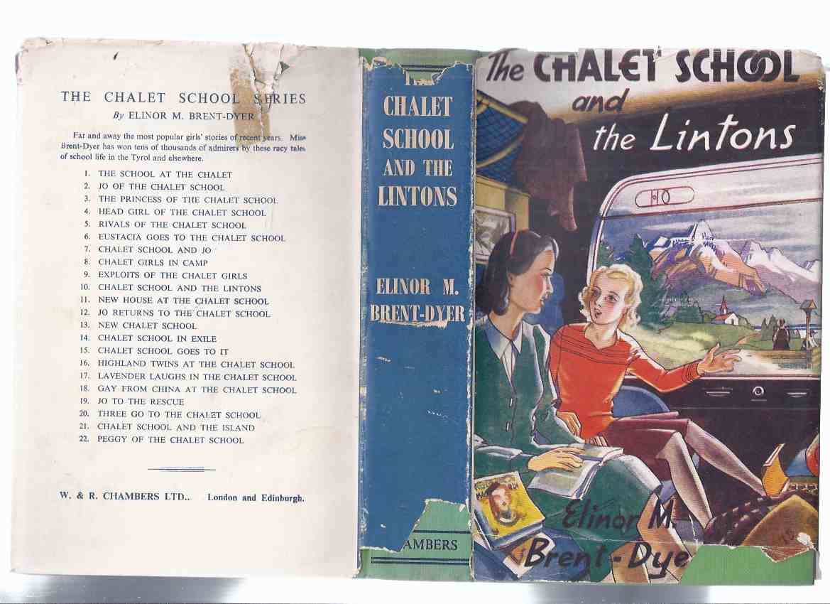 Image for The Chalet School and the Lintons -by Elinor M Brent-Dyer ( Book 10 in the Series )