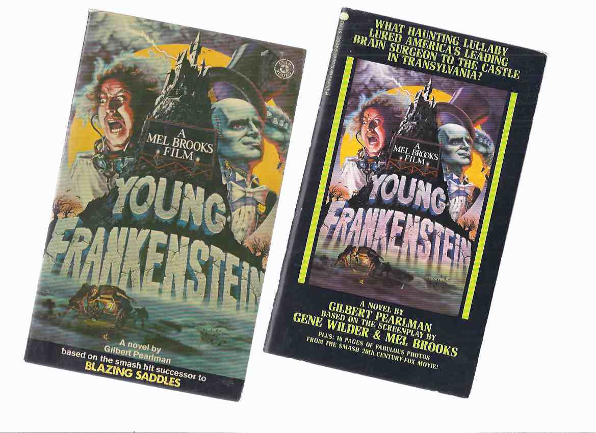 Image for Young Frankenstein: A Mel Brooks Film ( Two Volumes - US and UK Editions ) ( Movie Tie-In Edition)