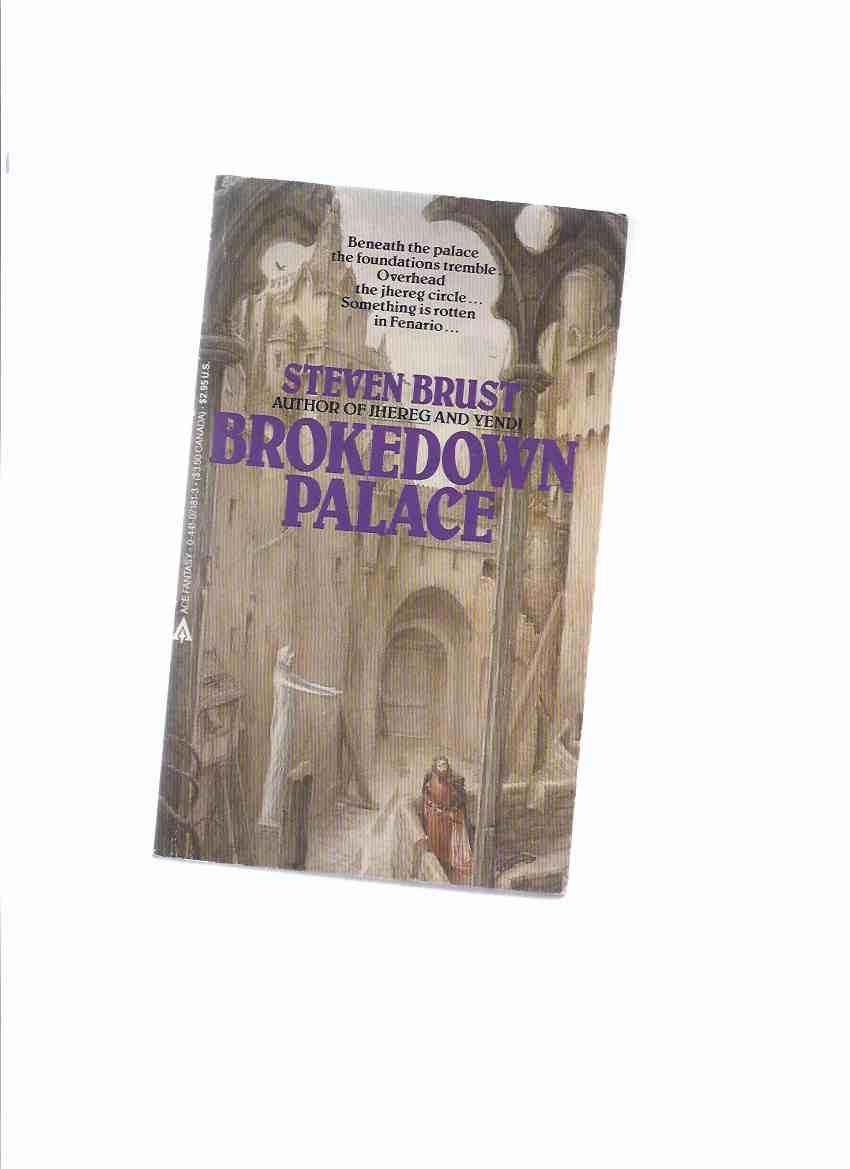 Image for Brokedown Palace --by Steven Brust --a signed Copy