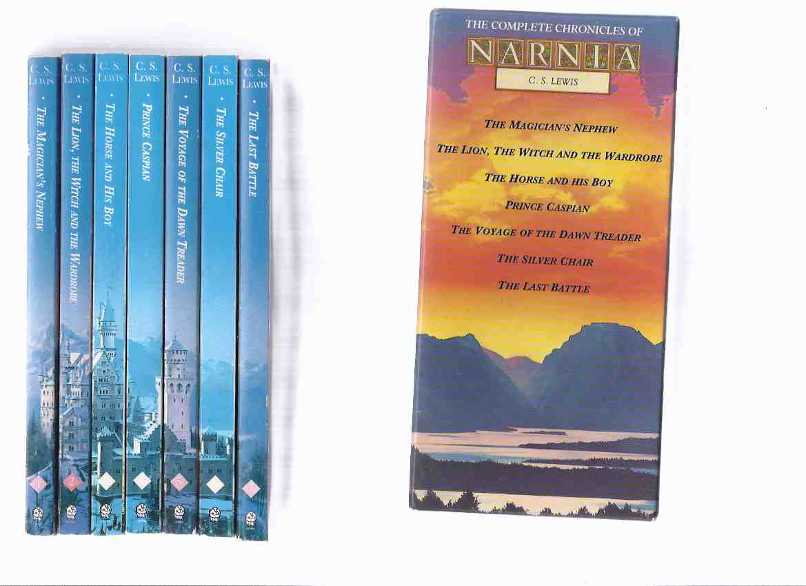 Image for SEVEN  Volumes in a Slipcase: C S LEWIS - Narnia Chronicles: Lion, The Witch and the Wardrobe -with Prince Caspian -with Voyage of the Dawn Treader -with Silver Chair -with The Horse & His Boy -with Magician's Nephew -with Last Battle ( Boxed Set )
