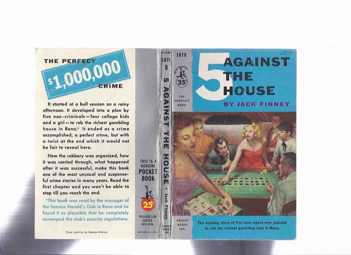 Image for 5 Against the House -by Jack Finney ( a Reno Casino Caper )