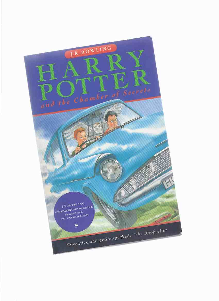Image for Harry Potter and the Chamber of Secrets -book 2 of the series:  The 1st Canadian Softcover Edition ---by J K Rowling ( Volume Two )