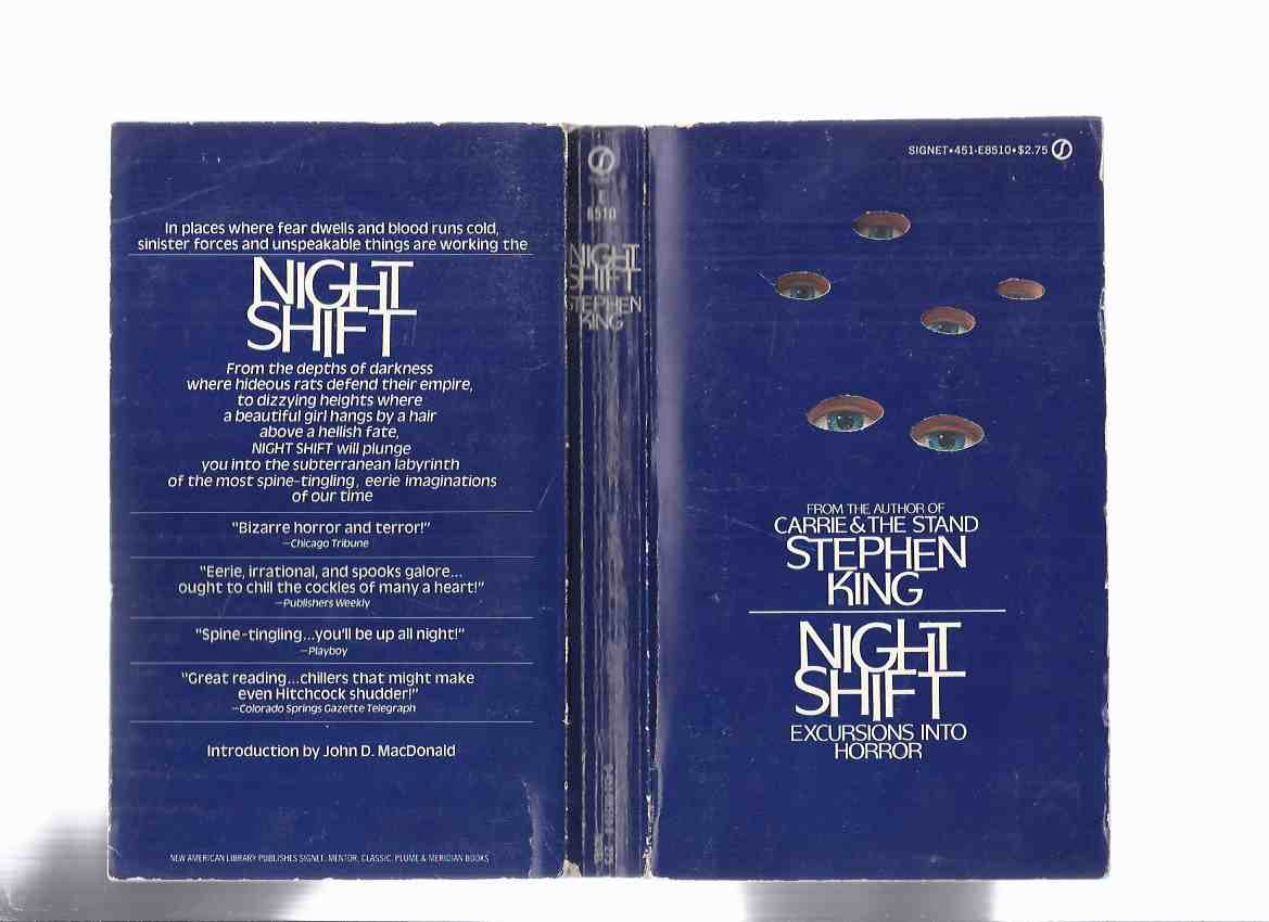 Image for Night Shift: Excursions Into Horror -by Stephen King (inc. Gray Matter; Children of the Corn; Quitters Inc.; I am the Doorway; Jerusalem's Lot; The Mangler; The Boogeyman, The Lawnmower Man, etc)