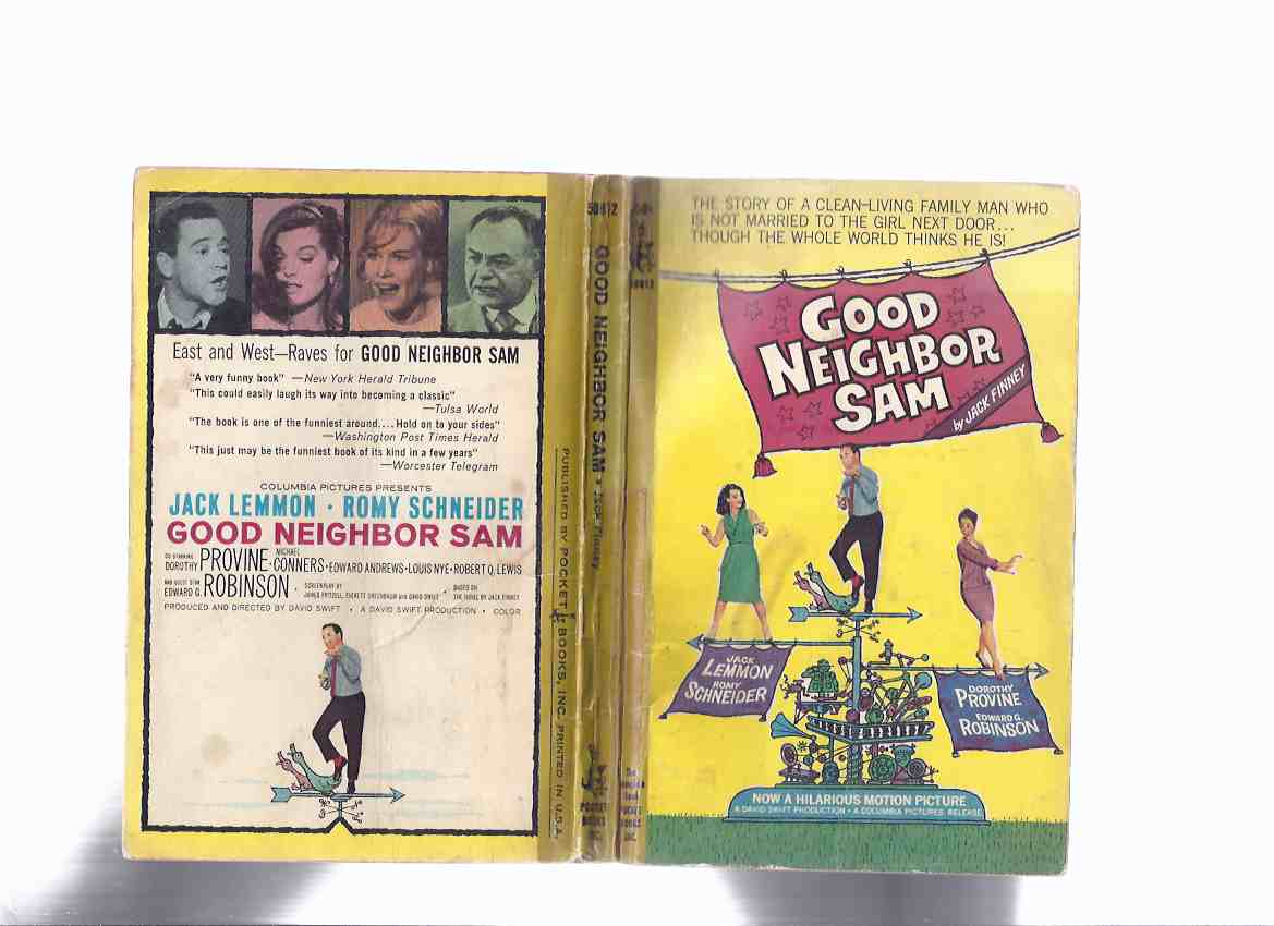 Image for Good Neighbor Sam -by Jack Finney ( Movie Tie-In Edition to the Jack Lemmon, Edward G Robinson film )