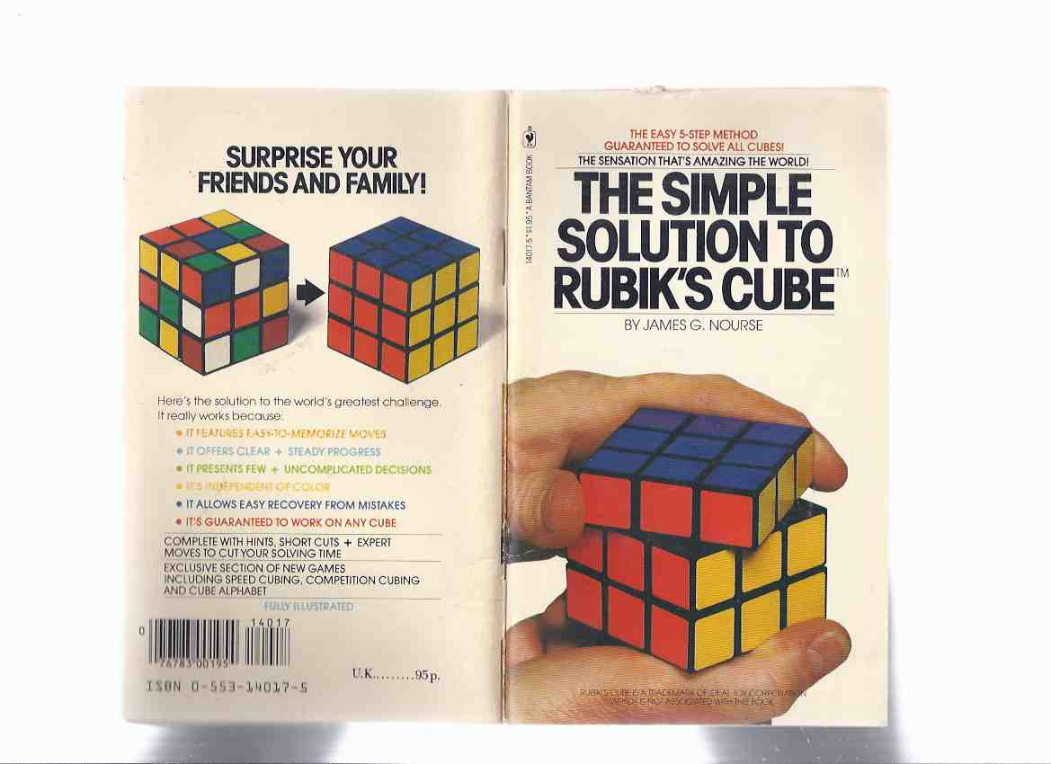Image for The Simple Solution to Rubik's Cube ---the Easy 5 Step Method ( Five ) ( Rubiks Cube )