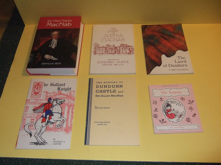 Image for Dundurn Castle Books:  Sir Allan Napier MacNab  -with History of Dundurn Castle -with The Laird of Dundurn -with The Surprise -with The Diary of Sophia MacNab -with The Gallant Knight --- 6 books ( Hamilton, Ontario / Local History )