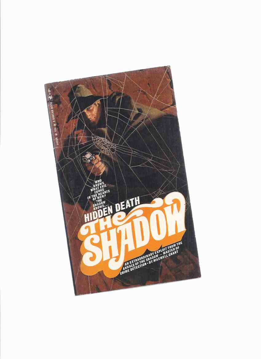 Image for Hidden Death: The Shadow ---by Maxwell Grant