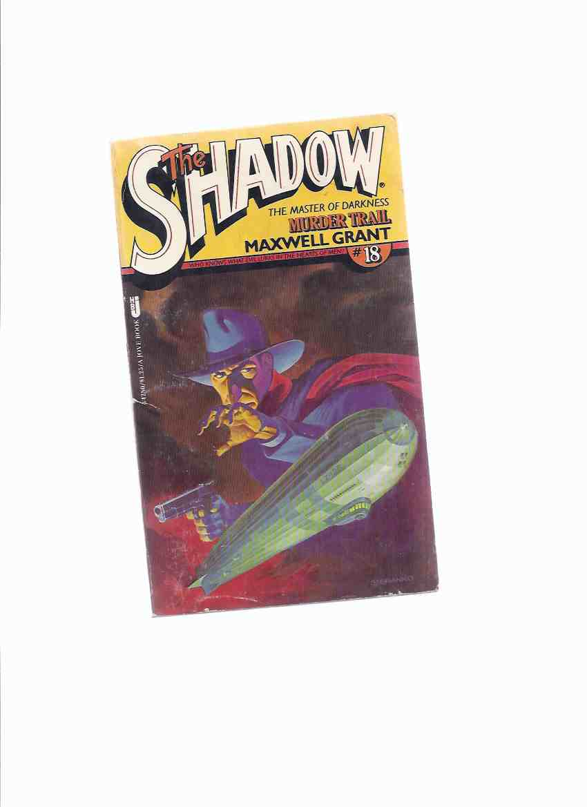 Image for Murder Trail:  The Shadow ---by Maxwell Grant