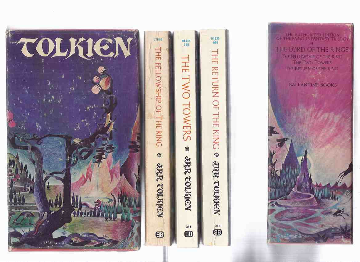 Image for The Lord of the Rings:  The Fellowship of the Ring ---with The Two Towers ---with The Return of the King ---book 1, 2 and 3 of the trilogy ---3 Volumes in a Slipcase ( Slipcased / Boxed / Box Set )