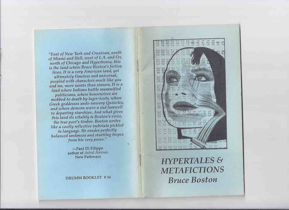 Image for Hypertales and Metafictions -by Bruce Boston (signed) / Chris Drumm # 34