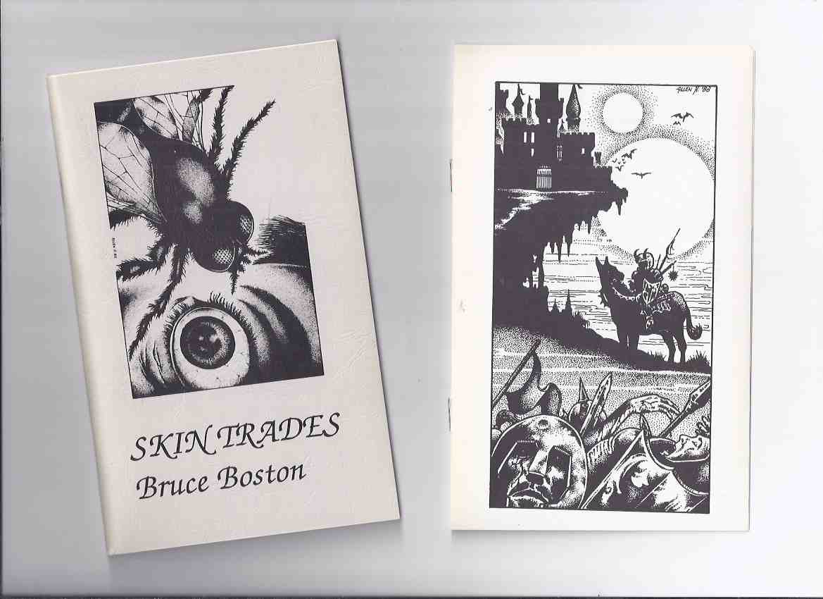 Image for Skin Trades  -by Bruce Boston (signed) -with insert / Chris Drumm # 31
