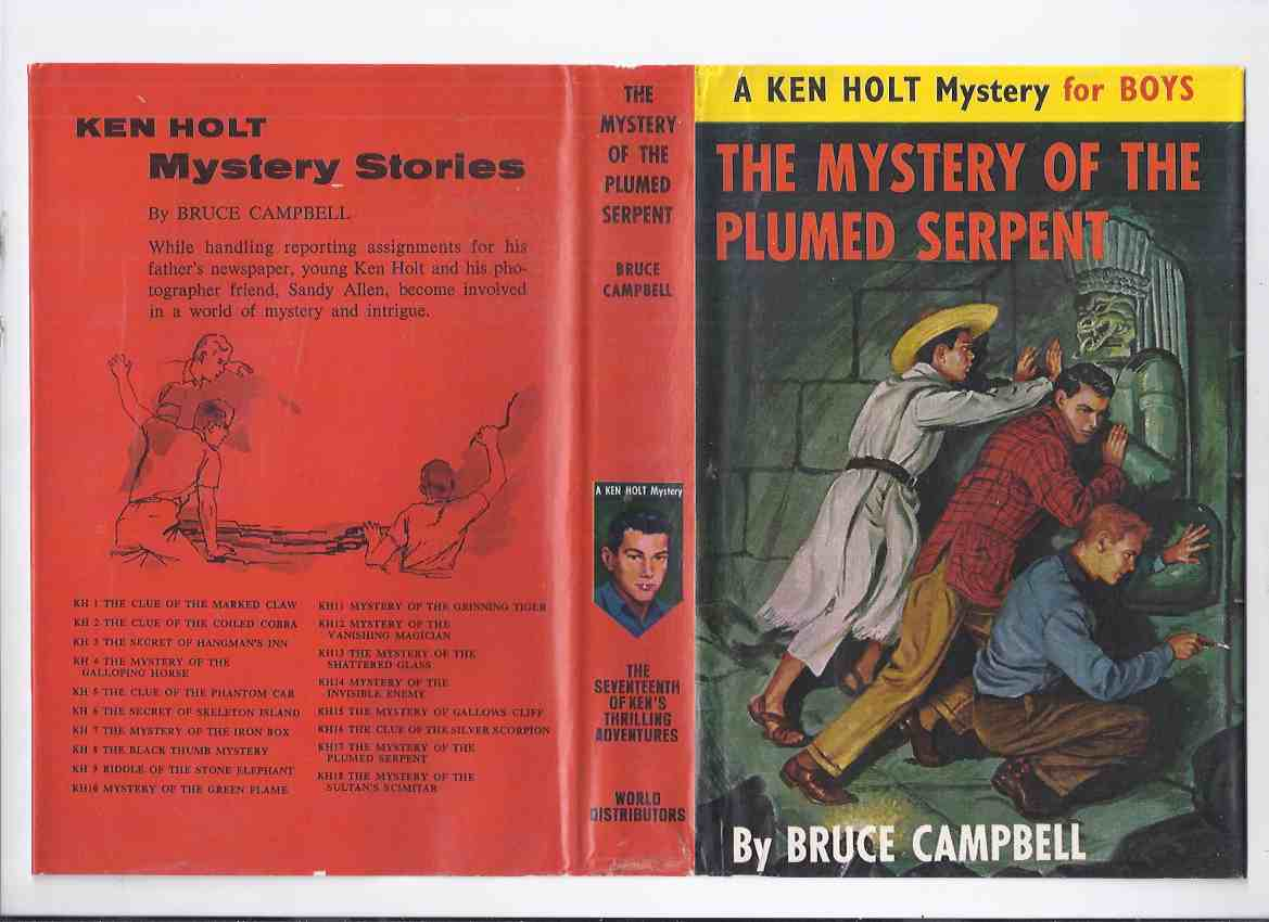Image for The Mystery of the Plumed Serpent:  A Ken Holt Mystery, Book # 17 ( Volume Seventeen / 17th / Seventeenth )