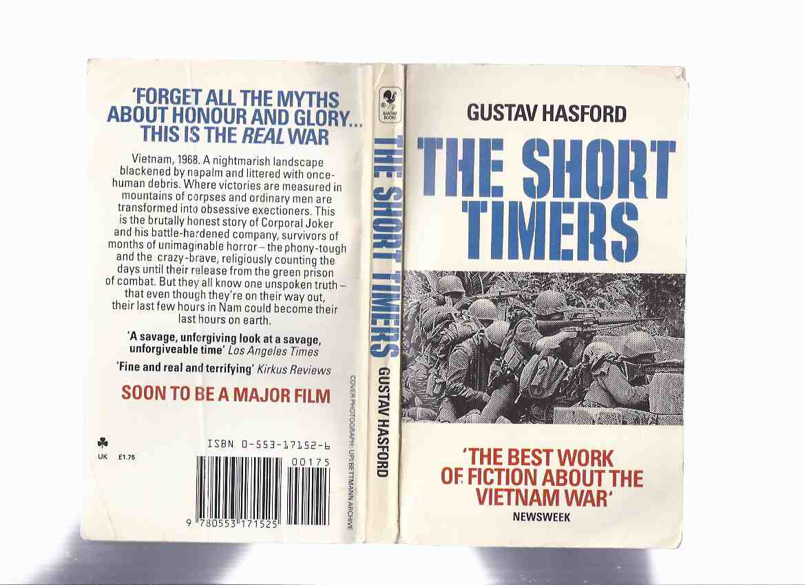 Image for The Short-Timers ---by Gustav Hasford --- Basis for the Movie FULL METAL JACKET ( Shorttimers )
