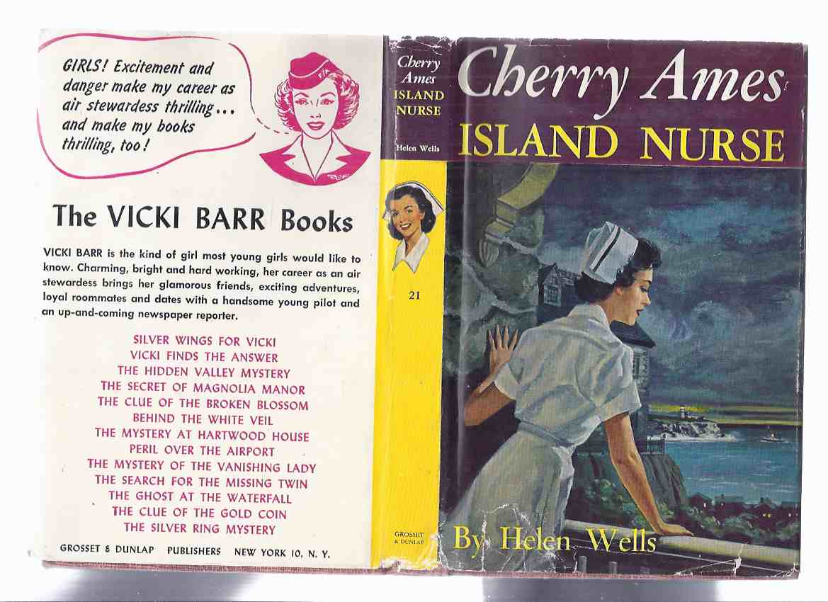 Image for Cherry Ames: Island Nurse, Book # 21 -by helen Wells ( Volume Twenty-One )
