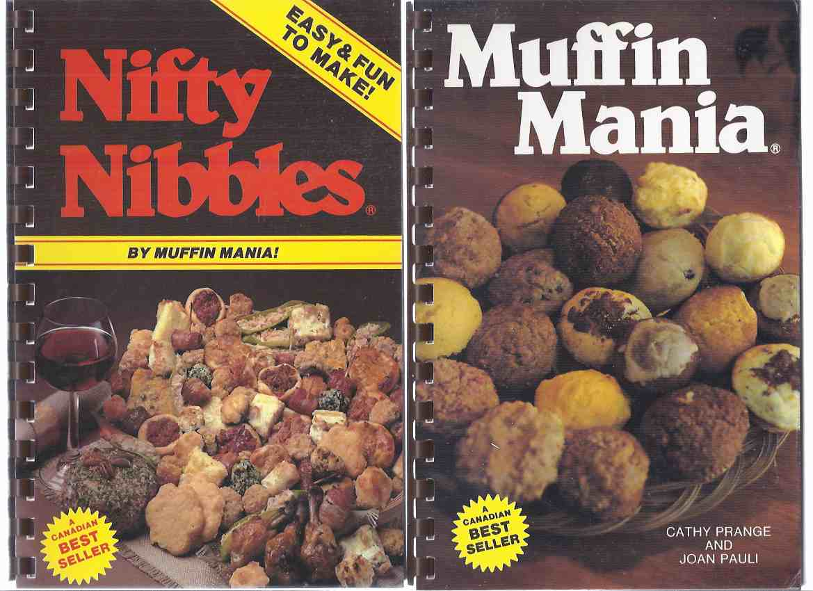 Image for 2 BOOKS: Muffin Mania  ---with Nifty Nibbles -TWO VOLUMES / Books  ( Cookbook / Cook Book / Recipes . Baking / Cooking )