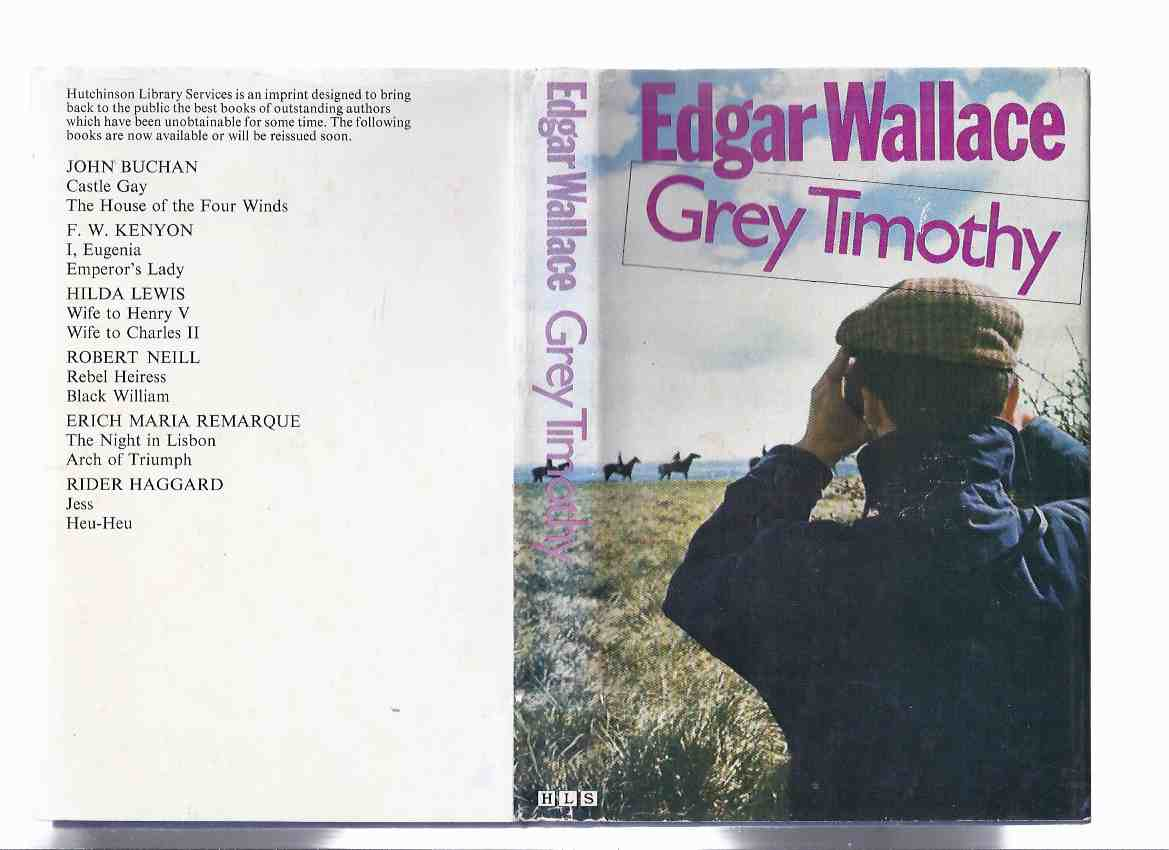 Image for Grey Timothy -by Edgar Wallace